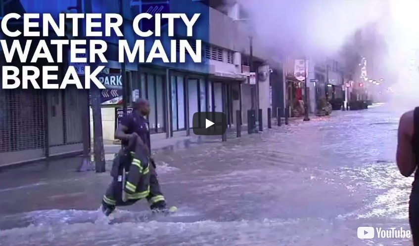 Philadelphia Water Main Break