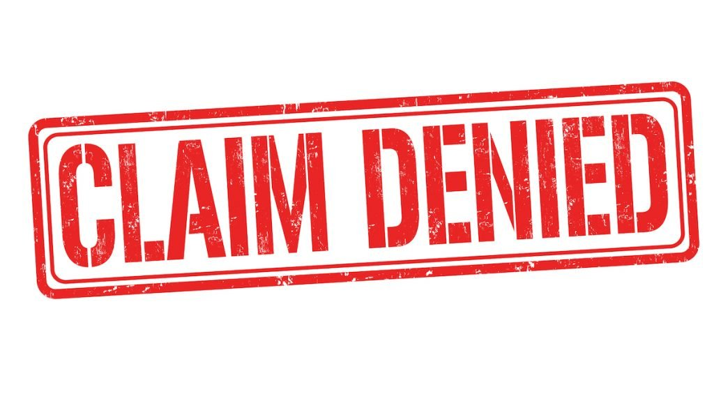 Insurance Claim Denail