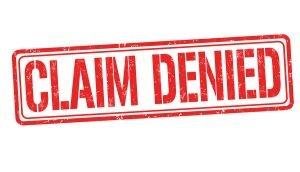 Insurance Claim Denail